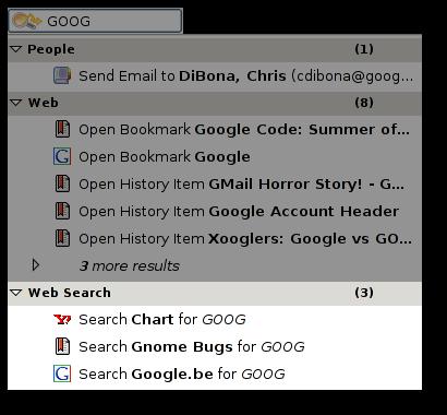 Deskbar uses epiphany smart bookmarks